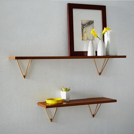 nrdico pared estante estantera estantera de madera titular de metal moderno diseo colgantes bastidores para corredor