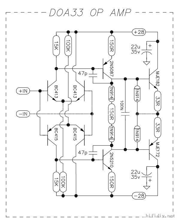 Audio Preamp Diagram