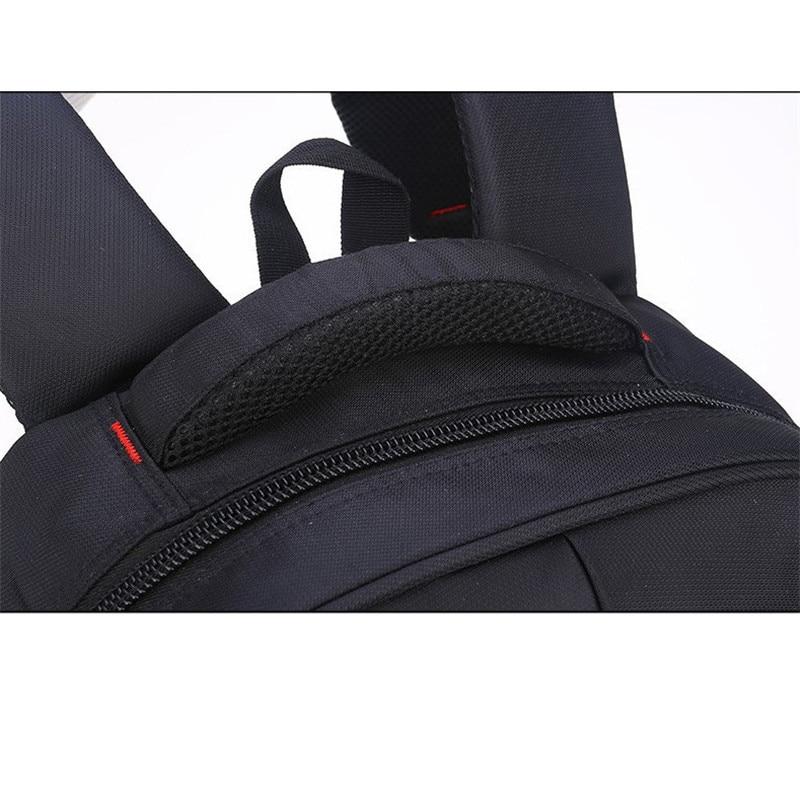 Hot men backpack 15 inch laptop bag travel nylon mens shoulders business double shoulder book bag best student travel bag