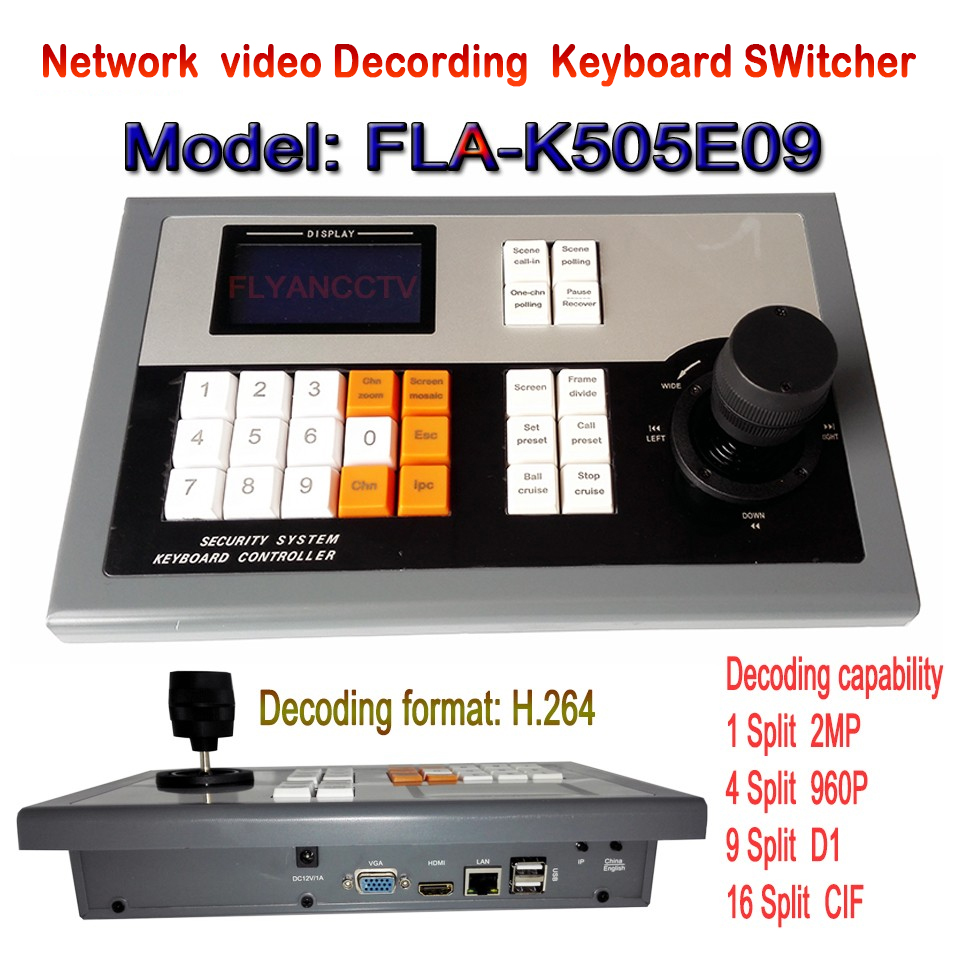 IP Decorder, 3-D Keyboard Controller, 2-D Keyboard Controller, Digital keyboard Control,  9 Screen NVS, support famous brand IPCIP Decorder, 3-D Keyboard Controller, 2-D Keyboard Controller, Digital keyboard Control,  9 Screen NVS, support famous brand IPC