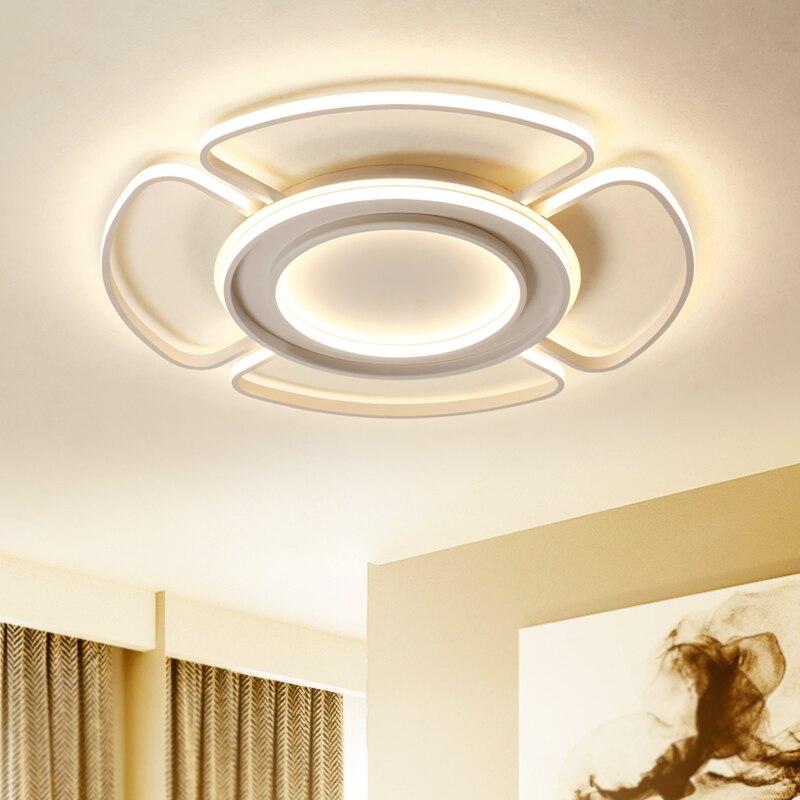 2018 New Modern Led Chandeliers Lights For Living Room Bedroom Led Ceiling Chandelier Lighting Fixtures lustre cristal