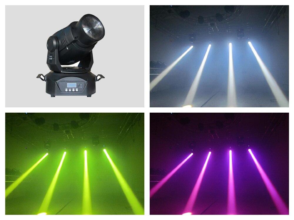 4pcs/lot, LED Moving Head Beam 75W RGB with 3 facet prism ktv disco 60w dj club night entertainment stage led lights