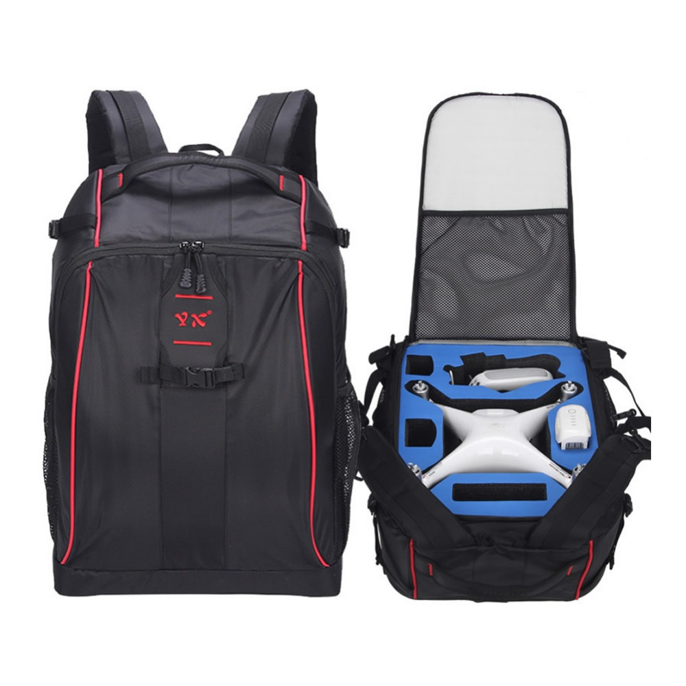 DJI Phantom 4 Series Drone Backpack Polyester Waterproof Shoulder Bag For PHANTOM 3 RC Quadcopter Advanced Standard Storage Case dji phantom3 phantom4 pro series universal backpack drone logo storage bag for dji drone quadcopter fashion protection knapsack