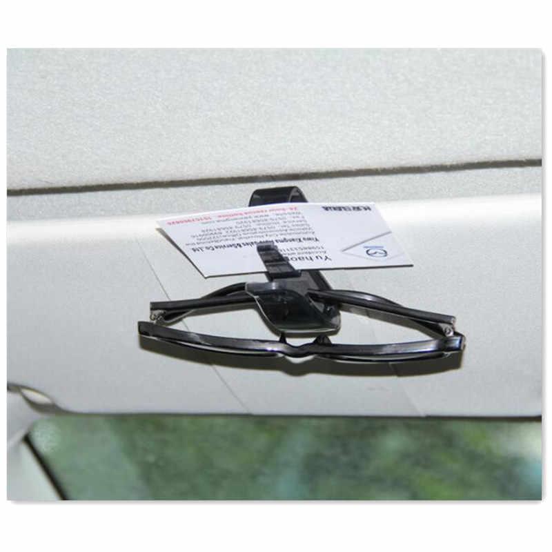 Auto Pengikat Kartu Tiket Klip Kacamata untuk Mitsubishi ASX Mercedes W211 Hyundai Ix35 Ix35 Mazda Honda Civic 2006-2011 lada Vesta