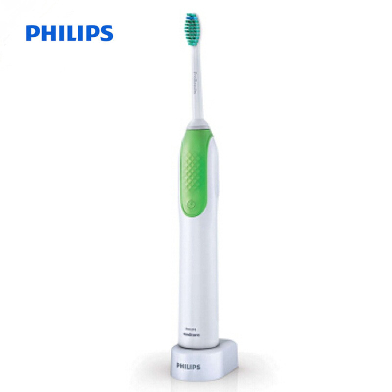 PHILIPS HX3110 / 08 Hot Sell Rechargeable Electric Acoustic Vibrate Toothbrush Green Portable Tooth Brush For Adult Children плодосъемник gardena 3110