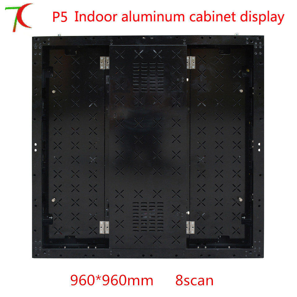 Factory Direct Sales 8scan 960*960mm P5 HD  SMD Full Color Aluminium Equipment Cabinet Display ,40000dots/m2