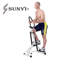 SUNYI. is the latest step machine genuine billion ultra quiet household handrail aerobic climbing machine