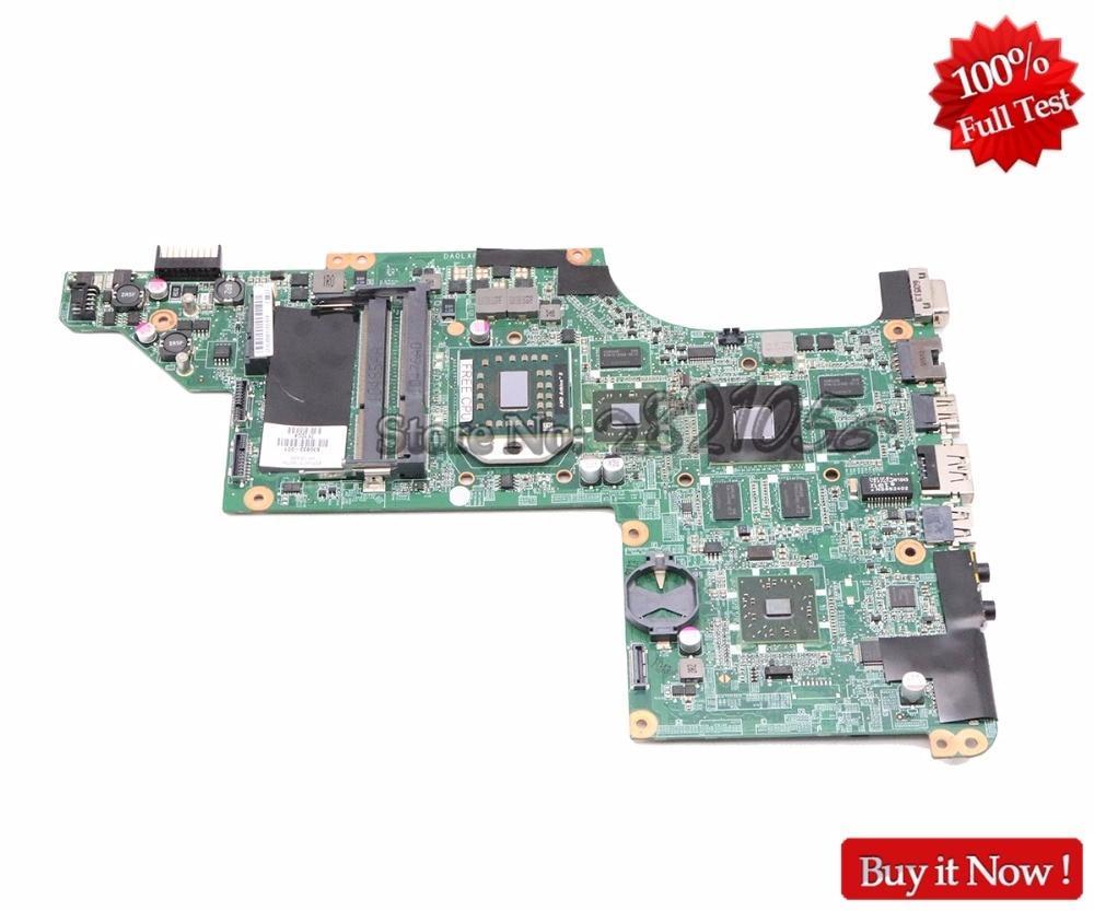 NOKOTION For HP pavilion DV7 4000 Laptop Motherboard 615687 001 DA0LX8MB6D1 Main Board Socket S1 HD5650 1GB Free CPU