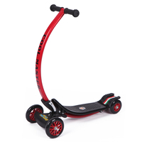 Infant Shining Scooter C Type Anti Collision Can Be Folded Bearing 45kg 2 8years Old Children