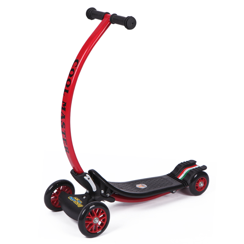 Infant Shining Scooter C-type Ride on Toy Anti-collision Foldable Bearing 45kg  2-8Y Old Children Bike children scooter 3 wheel folding flash swing car lifting 2 15 years old baby stroller ride bike vehicle children toys gifts