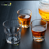 12 Pcs 100ml Vodka Shot Glass Drinking Ware Glass Cup Beer Steins for Home Office Drinkware