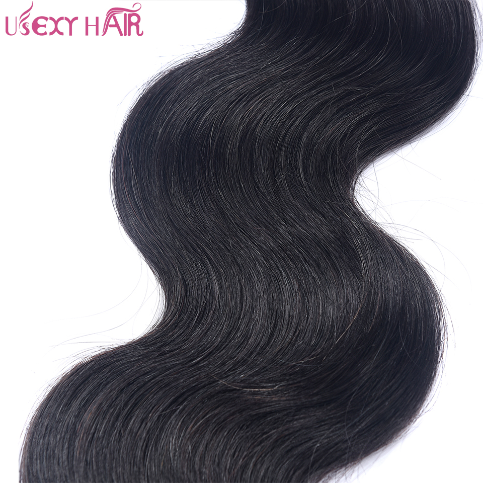 USEXY HAIR Indian Remy Hair Body Wave Human Hair Bundles 1 Piece 100g Human Hair Weave Bundles 8-28 inch Can Be Bleached
