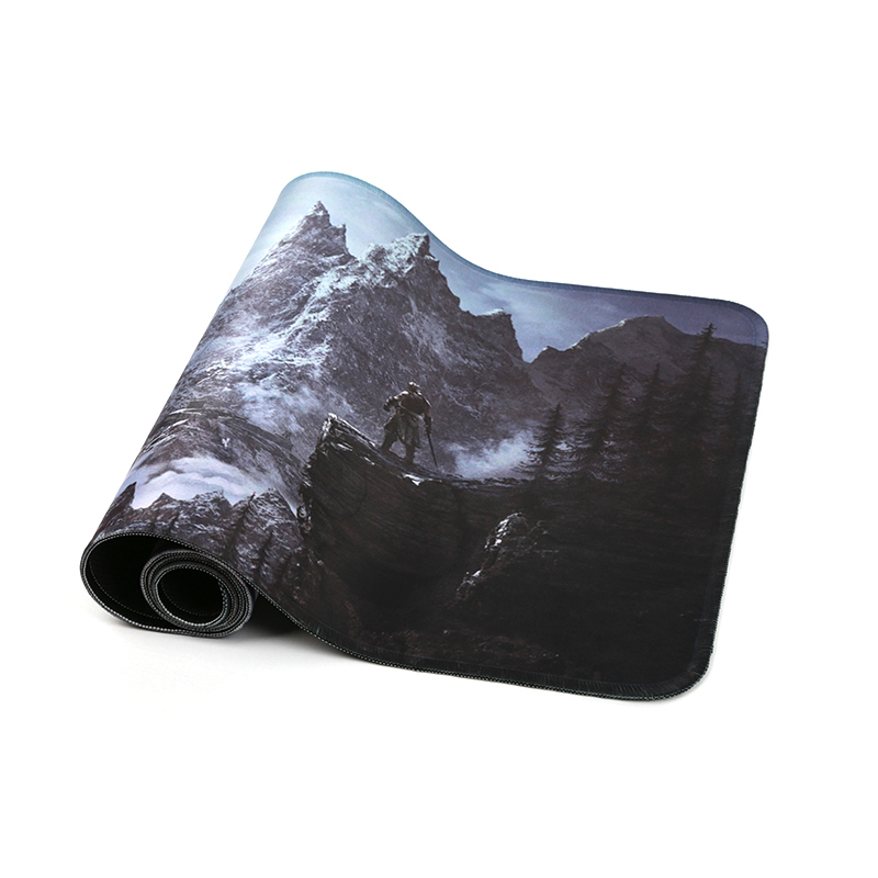 80x30cm Popular host computer stand-alone game mouse pad for the elder scrolls v skyrim large gaming mousepad 800*300mm