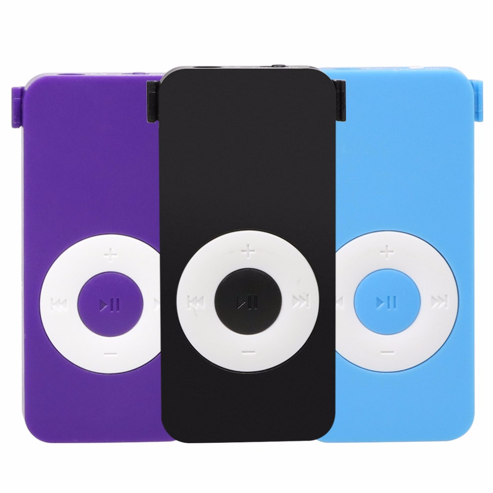100% Brand New High Quality Mp3 Player Portable Mini Mp3 Reproductor Mp3 Support TF Card Music Player with 3.5mm Stereo Jack