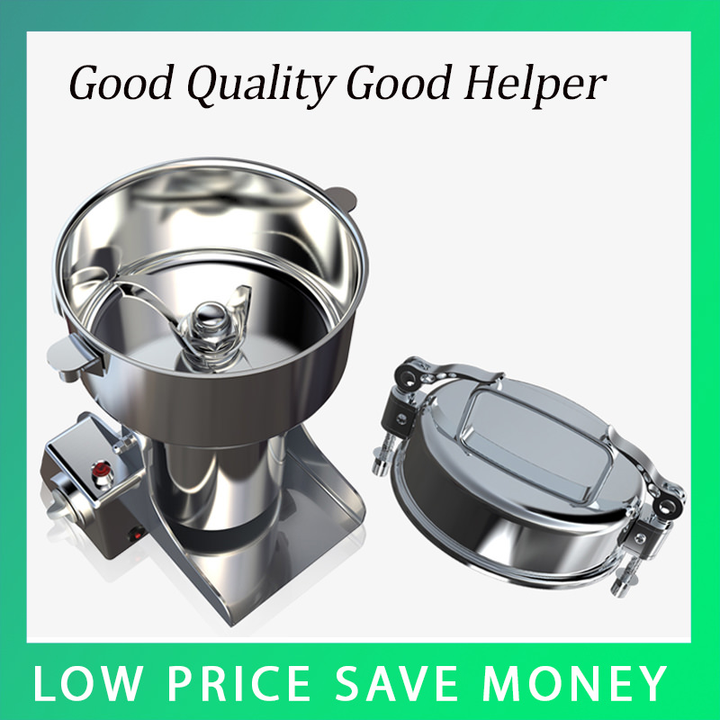 XY 350B NEW Stainless Steel Electric Spice Herb Pepper Bean Coffee Grinder Electric Herbal Powder Machine