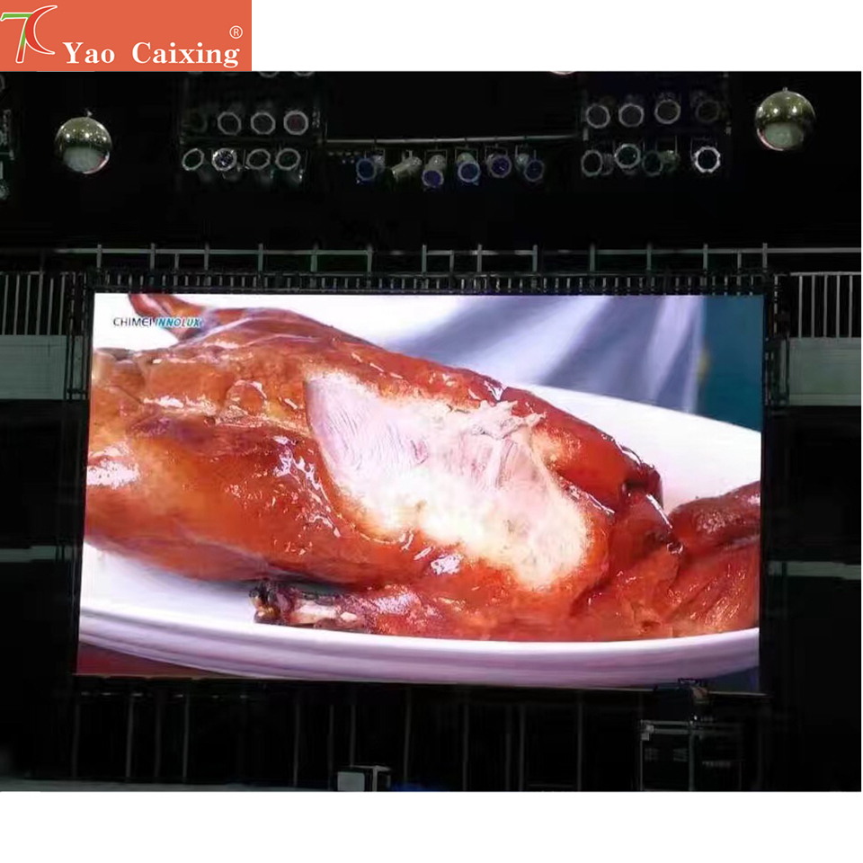 P3.91 Rgb Outdoor SMD Full Color 500x1000mm Dot Matrix Aluminum Cabinet Display 13scan Led Panel Stage Screen Video Display