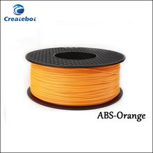 3d printer filament Ornage color ABS 1.75mm 3mm MakerBot RepRap plastic Rubber Consumables Material 1KG