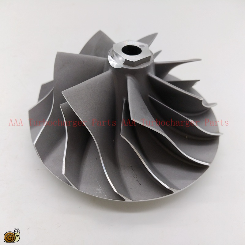 GT45 turbo колеса компрессора 66.5x94.2 мм Поставщик AAA Турбокомпрессоры части