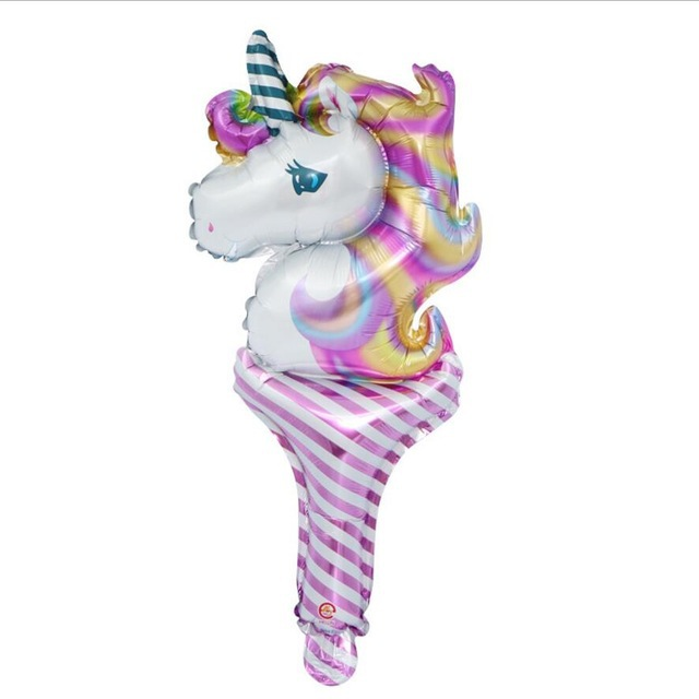 VIPOINT PARTY 30x50cm blue pink unicorn foil balloons wedding event christmas halloween festival birthday party PD 111 in Ballons Accessories from Home Garden