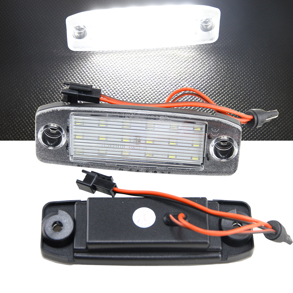 Car Canbus LED Number License plate light lamp for Kia Sportage 2011 2012 2013 12V OEM replacement Auto Car Styling direct fit for kia sportage 11 15 led number license plate light lamps 18 smd high quality canbus no error car lights lamp page 1
