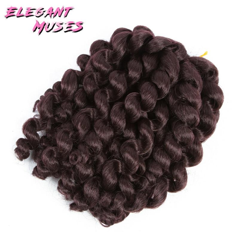 10 ίντσες Wand Κουρδιστό μαλλιά - Συνθετικά μαλλιά - Φωτογραφία 4