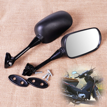 CITALL 1 Pair Motorcycle Rear View Mirror Rearview for Honda CBR 600RR 2004 ~ 2008 2009 2010 2011 for 1000RR 2004 2005 2006 2007