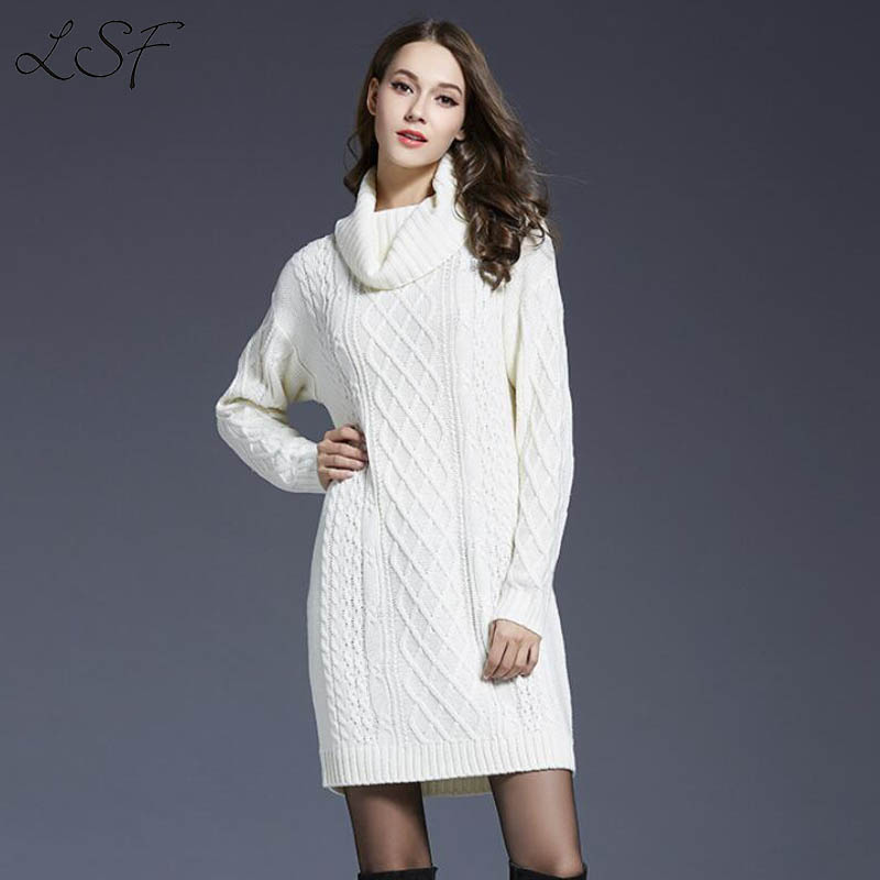 2017 New Turtleneck Sweater Women Autumn Winter Pullover Women ...