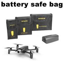 Saco De Armazenamento Saco de Proteção da bateria Seguro para ANAFI Papagaio Zangão Vôo Da Bateria Protetor Protetor de Transporte Grande Médio Pequeno