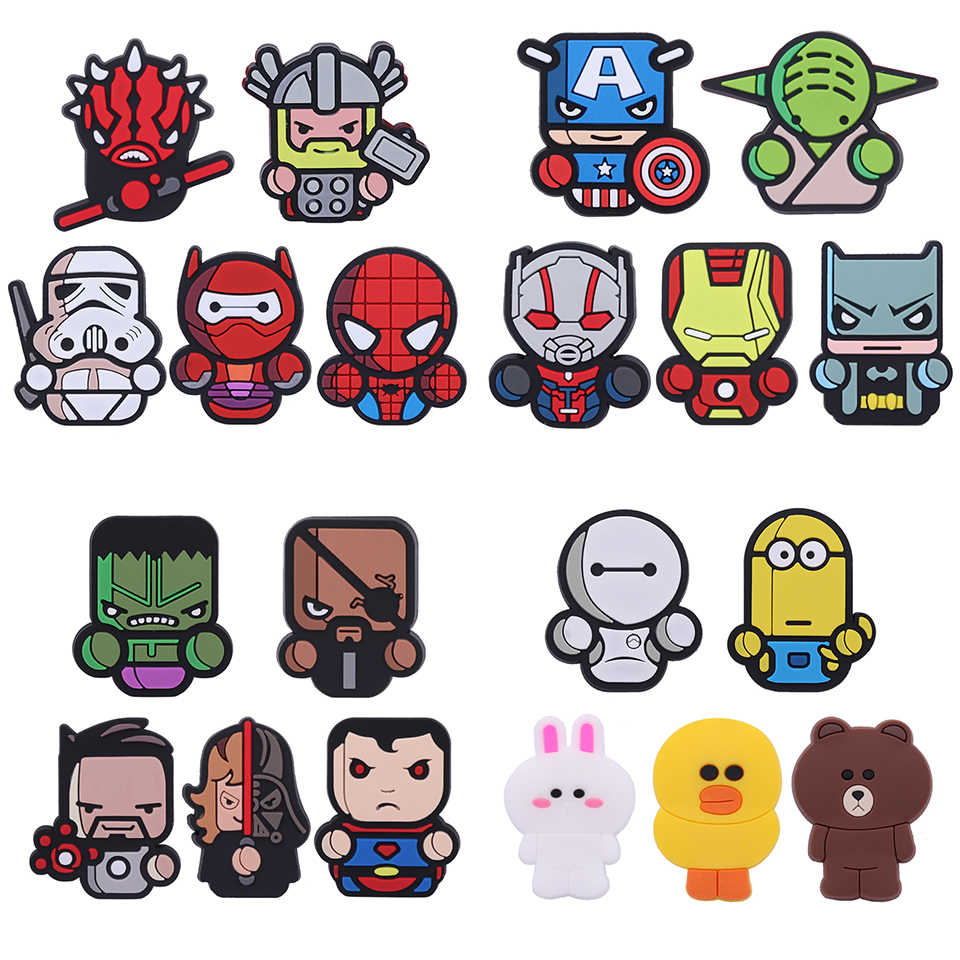 Air Freshener Styling Perfumes The Avengers Marvel Style Star Wars Iron Man Captain for Auto Air Condition Vent Outlet Clip