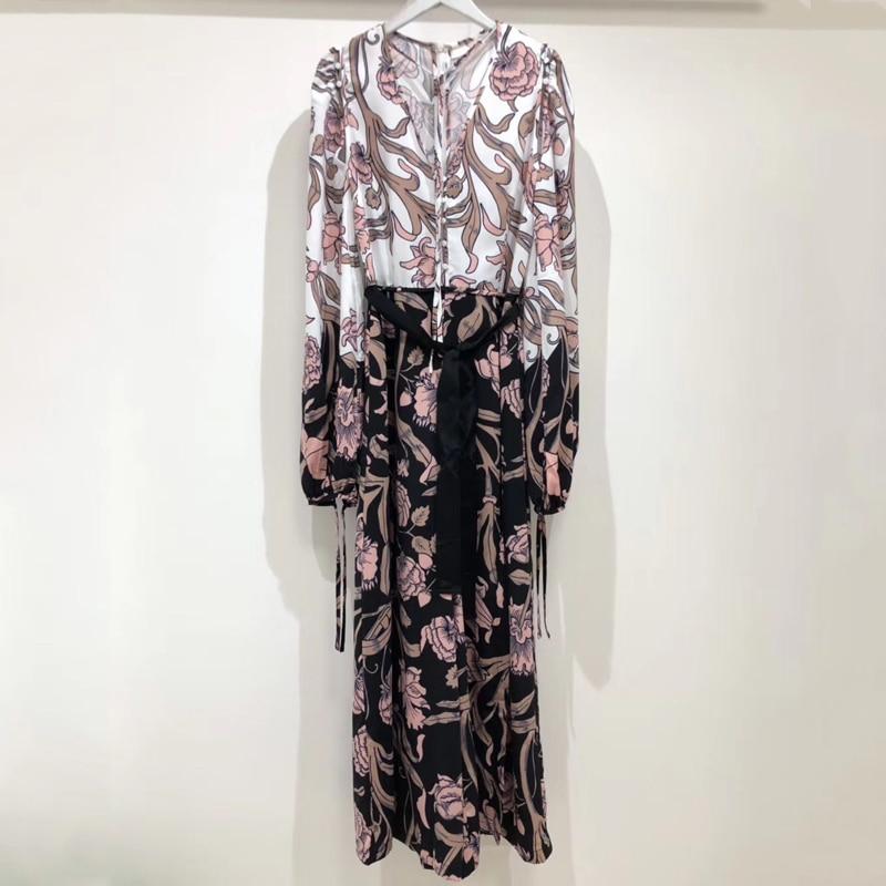 Для женщин Свободные Комбинезоны летние элегантные с длинными рукавами широкие брюки комбинезоны 2019 модные женские туфли комбинезон лоску