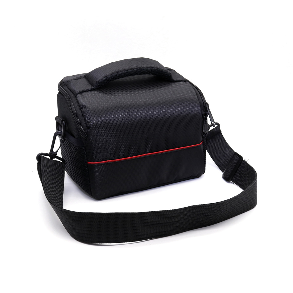 Waterproof Camera Video Bag Case with Strap for Canon Nikon COOLPIX P7700 P530 P510 Fujifilm Panasonic Olympus EPL7 ILDC Camera