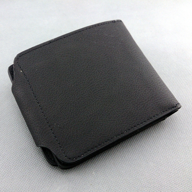 Naruto Black PU Leather Wallet
