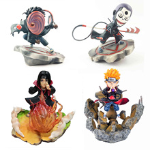Anime Uzumaki Naruto PVC Itachi Fire Pain Nagato Yahiko Tobi Hidan Action Figure Zero Collection Model Toy free shipping anime uzumaki naruto pvc action figure toy 23cm naruto collection model toy