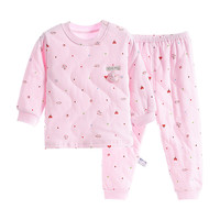 2019 New Winter Thick Kids Pajamas Set Baby Boys Girls Quilted Super Warm Cotton Tops and Pants 2 10 Years Homewear Suits
