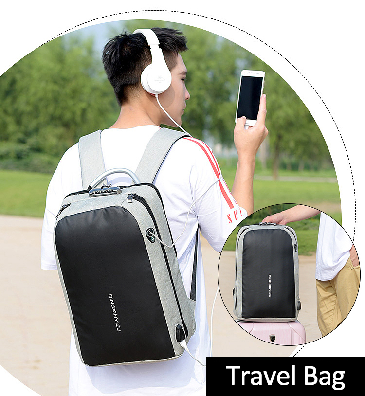 HTB1fSldXvfsK1RjSszbq6AqBXXai - New Teenager Campus backpack Student multifunctional anti-theft