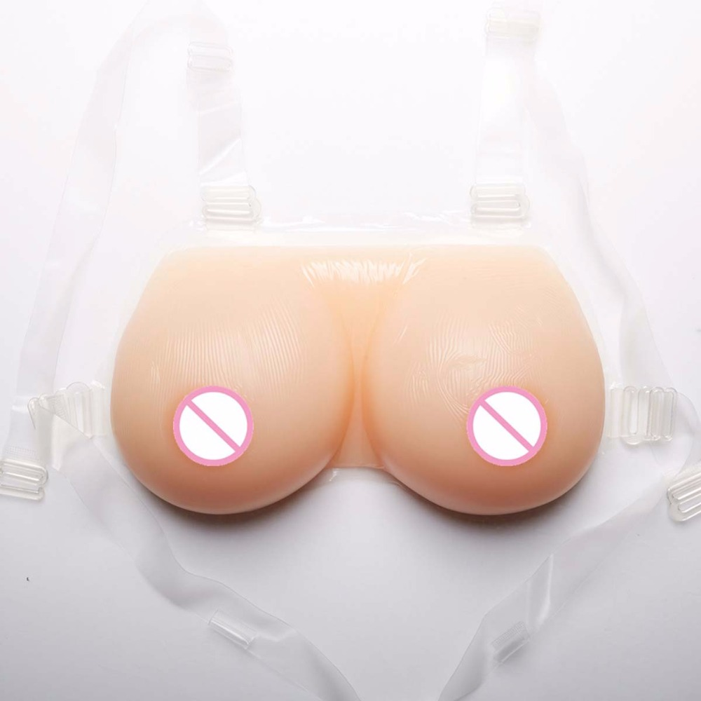 цены 600g 1pair 34B Cup False breast Artificial Breasts Boobs prothesis Silicone Breast Forms for crossdresser shemale drag queen