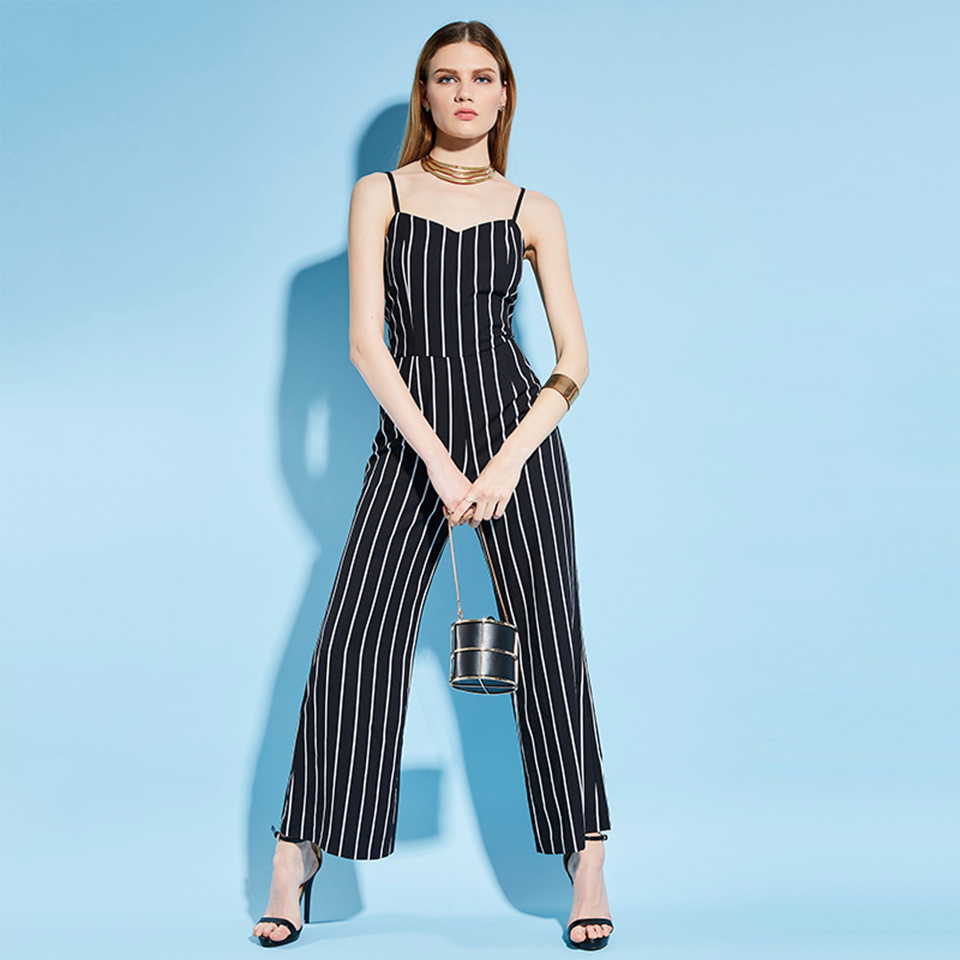 HTB1fSmJcwb.PuJjSZFpq6zuFpXaJ - Women Stripe Rompers Long Pants Jumpsuit JKP390