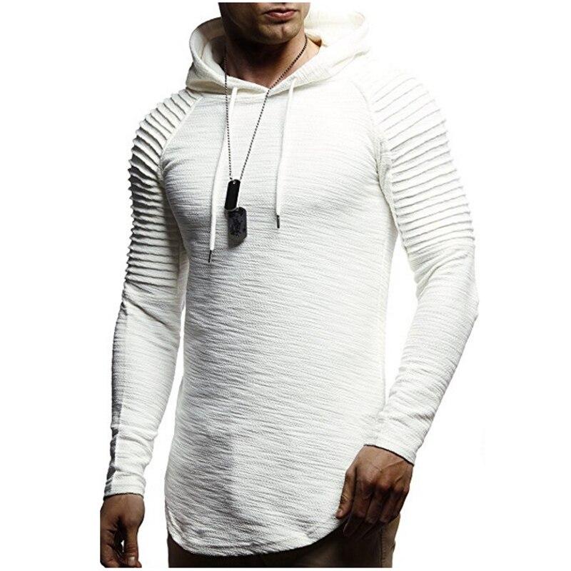 2018 nuevas sudaderas con capucha para hombre marca moda hombres Color sólido Sudadera con capucha para hombre Hip Hop Otoño Invierno sudadera para hombre XXXL