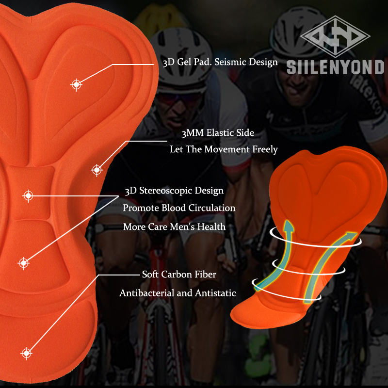 Siilenyond 2019 Pro Women Winter Thermal Cycling Pants MTB Bicycle Cycling Tights Mountain Bike Trousers With 3D Gel Padded 3