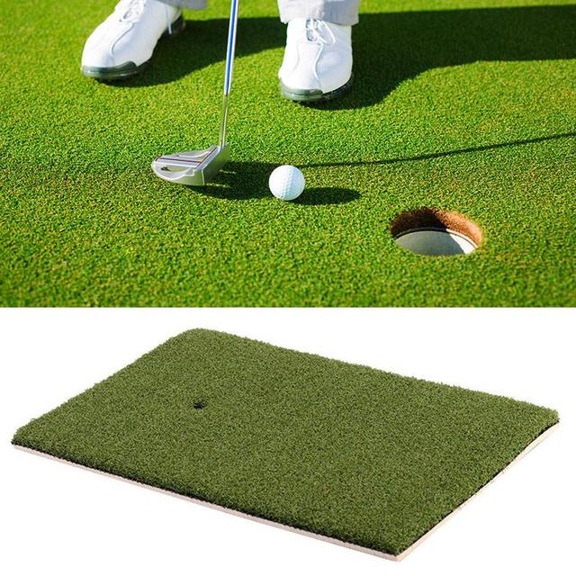 Indoor Backyard Golf Mat Training Hitting Pad Practice Rubber Tee Holder  Grass Mat Grassroots Green 25