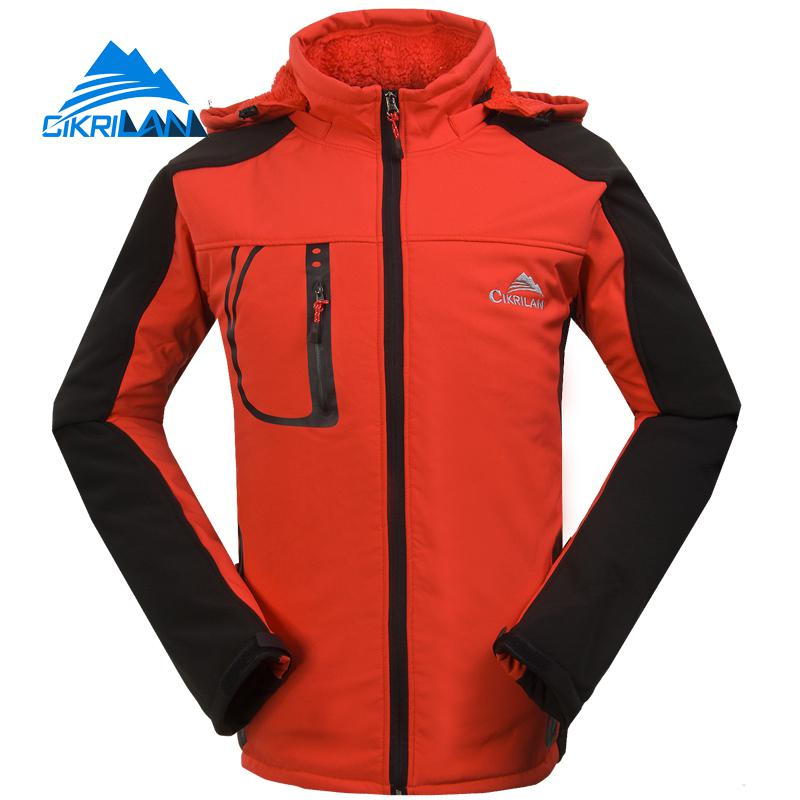 Mens Winter Windstopper Water Resistant Softshell Coat Outdoor Sport Hiking Jacket Men Camping Climbing Jackets Skiing Coats