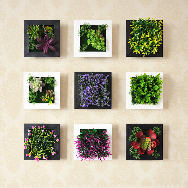 Plant Wall Art aliexpress : buy 3d plant wall sticker home decor wall