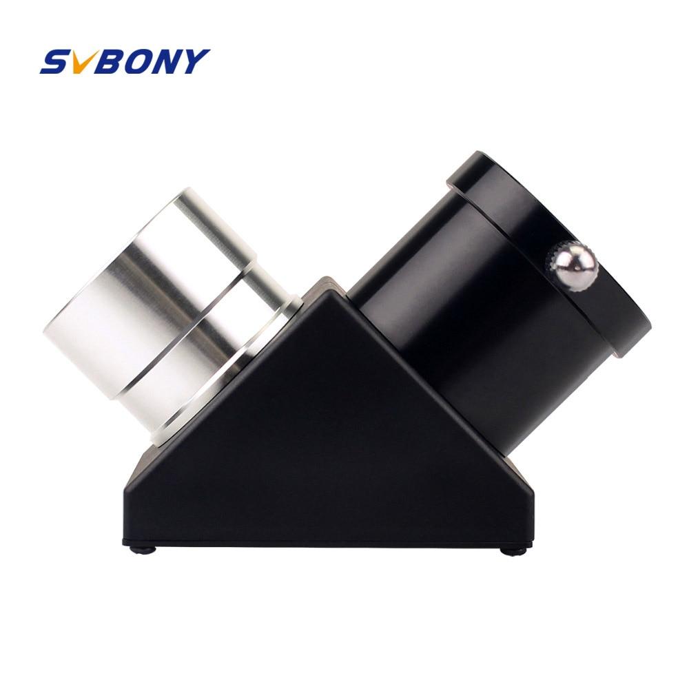 SVBONY 1,25 ''Zenith Diagonal Spiegel Monokulare Teleskop 90 Grad Zenith Spiegel für Astronomie Astro Teleskop Okular W2239