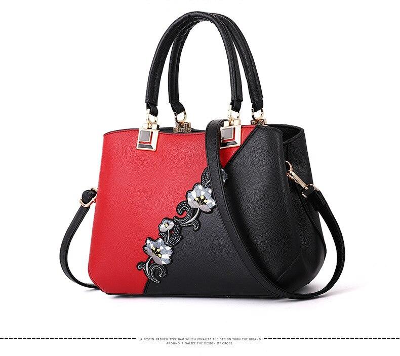 18 New women Handbags Fashion leather handbags Shoulder Bag women top-handle bags 7
