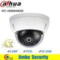 Original DAHUA HDBW4800E 4MP 4 K Ultra smart DWDR vandalproof Mini suporte para Câmera IP/HLC/BLC IPC-HDBW4800E, HDBW4800E vandal-proof