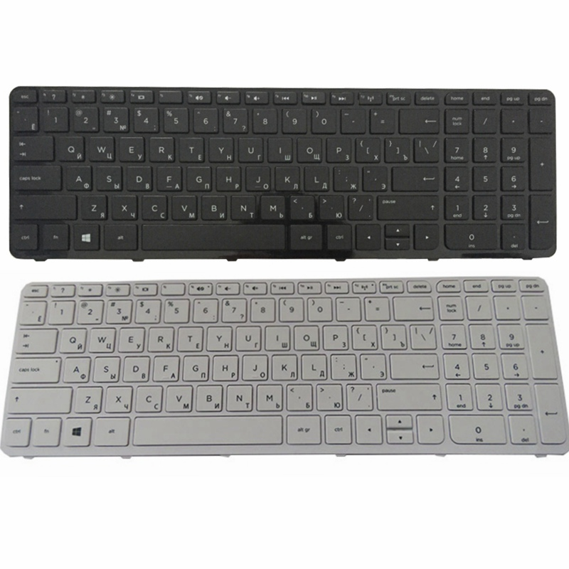 RU New for HP 250 G2 G3 255 G2 G3 256 G2 G3 Laptop Keyboard Russian