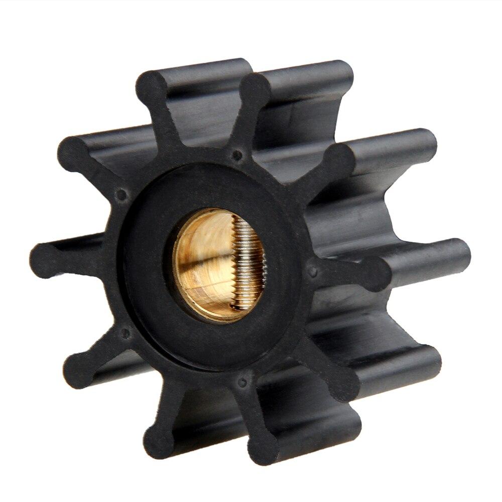 CARBOLE  Water Pump Impeller 09-810B 18653-0001 653-0001 128990-42200 9-45713 for Jabsco / Johnson / YANMAR Engine Pump