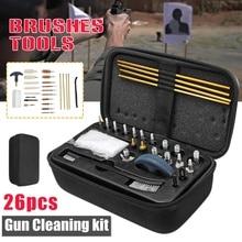 Универсальный Набор для чистки пистолета для винтовки, пистолет для ружья, кисть для ружья, портативный набор для чистки оружия, аксессуары для охоты