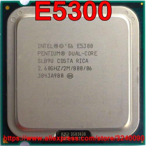 DRIVERS UPDATE: PENTIUM DUAL CORE CPU E5300