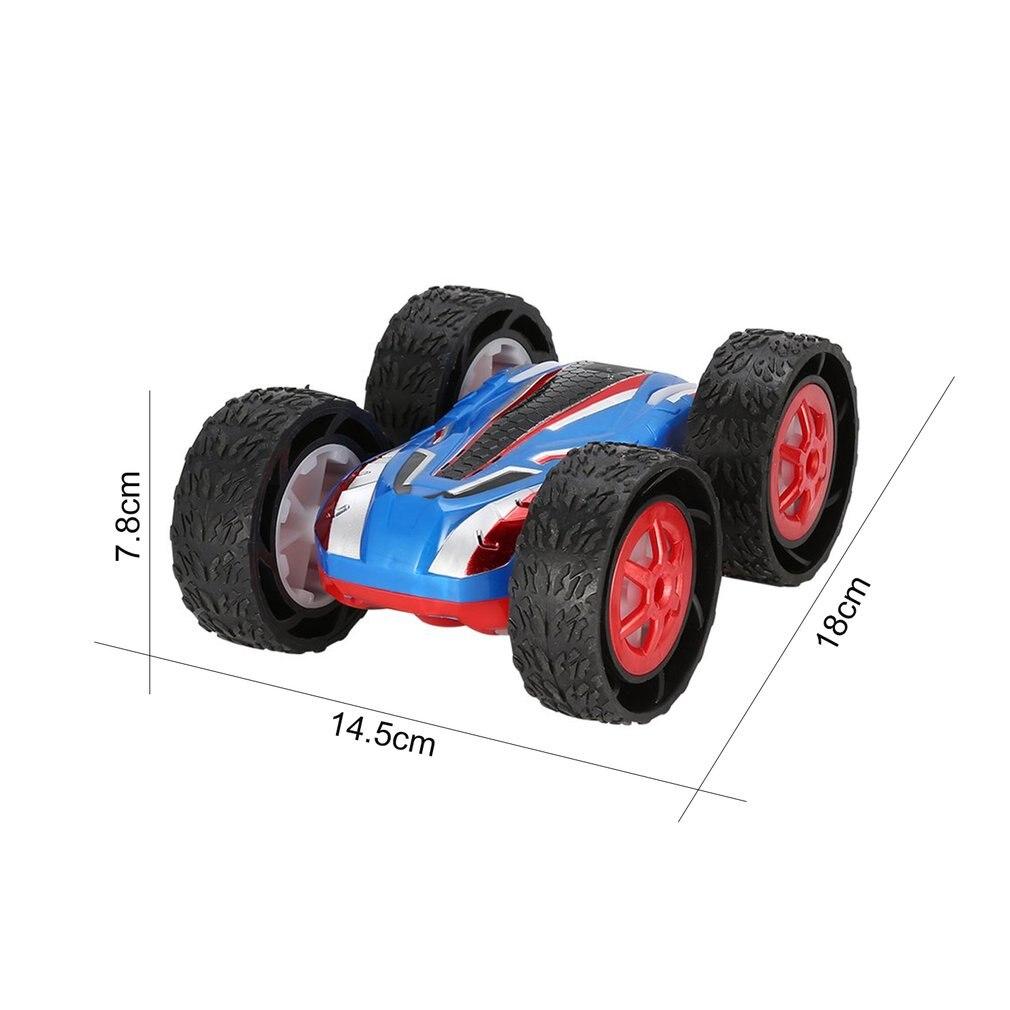 Double face Flip RC cascadeur voiture saut Bug cascadeur haute vitesse véhicules tout-terrain course SUV voiture enfants jouet - 6